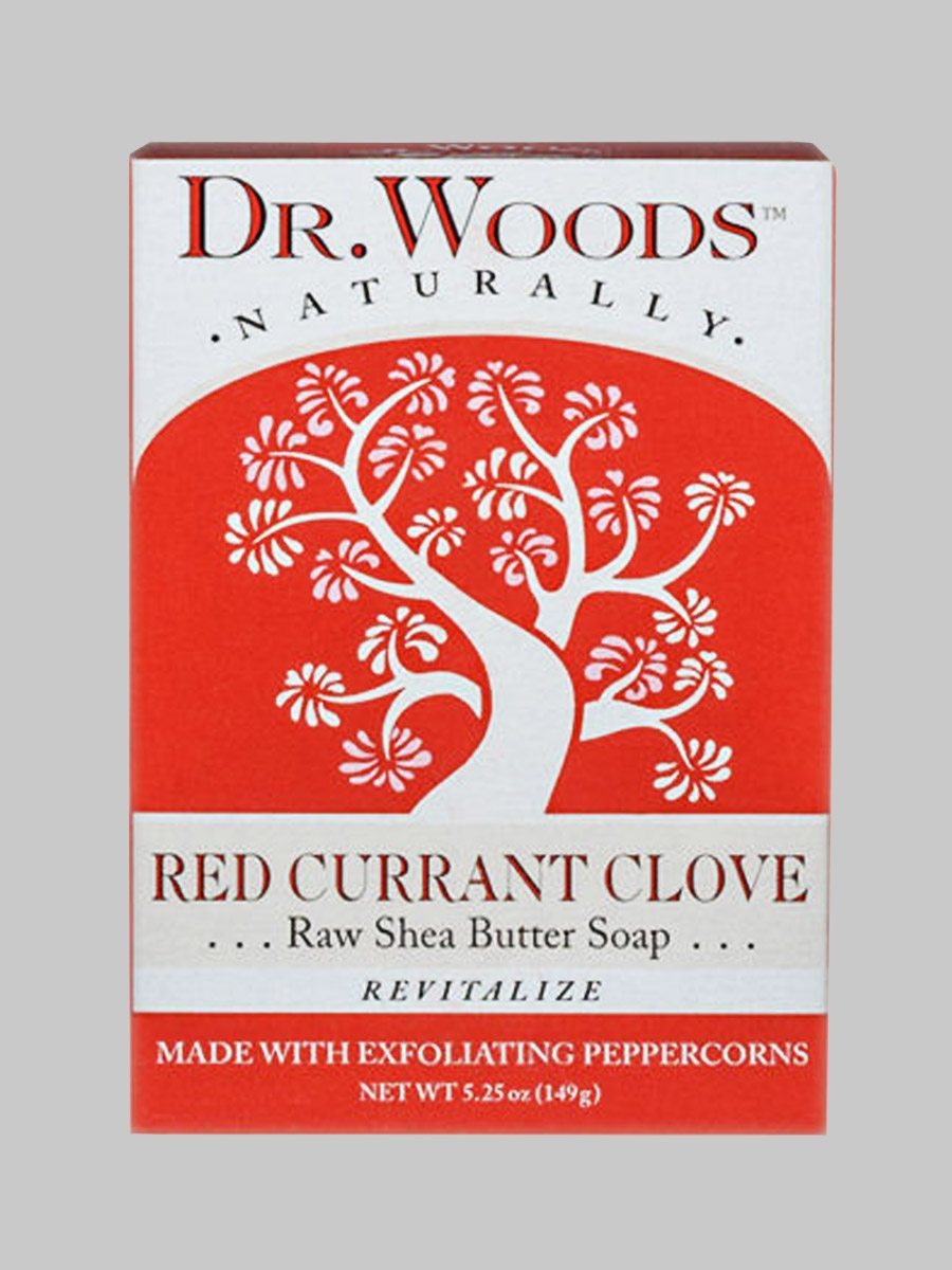 Dr. Woods Bar Soap Red Currant Clove