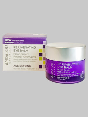 Andalou Naturals Age Defying Rejuvenating Plant-Based Retinol Alternative Eye Balm