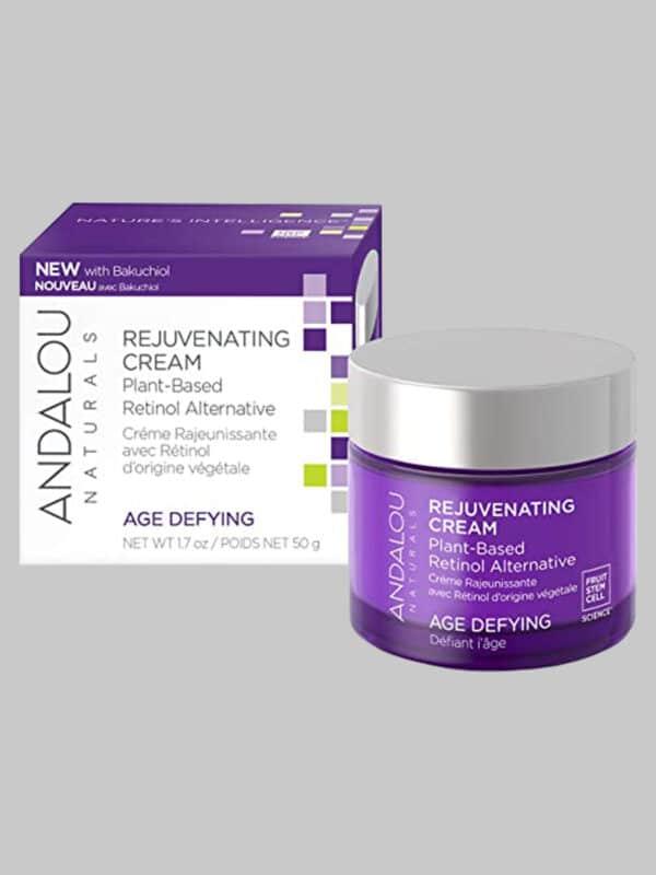 Andalou Naturals Age Defying Rejuvenating Plant-Based Retinol Alternative Cream