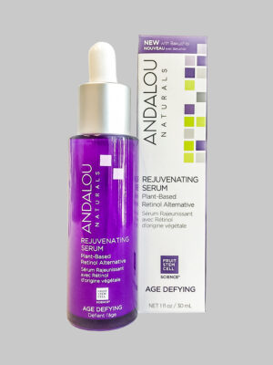 Andalou Naturals Age Defying Rejuvenating Plant-Based Retinol Alternative Serum