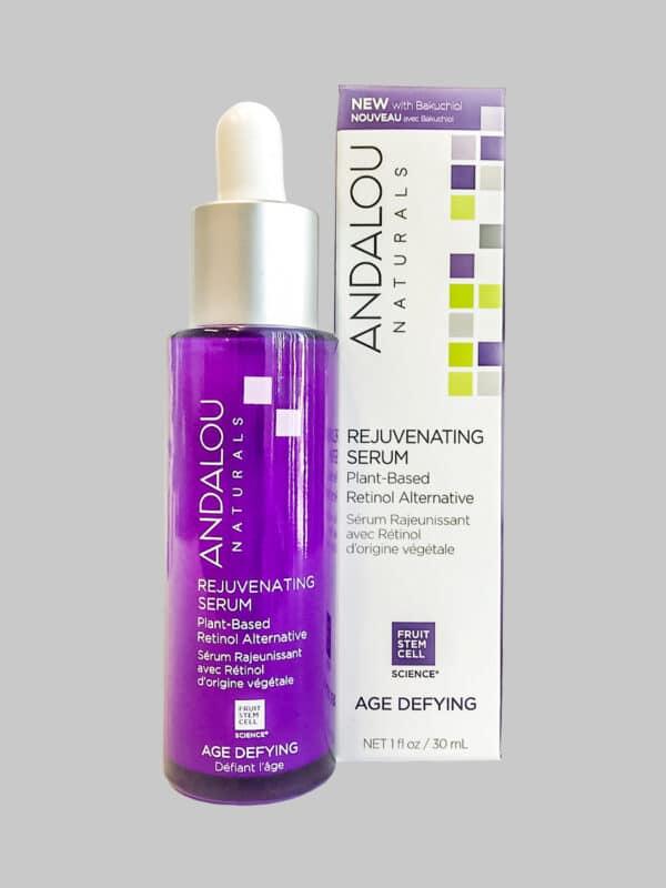Andalou Naturals Age Defying Rejuvenating Plant-Based Retinol Alternative Serum