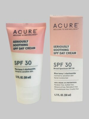 Acure Seriously Soothing SPF 30 Day Cream