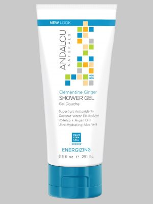 Andalou Naturals Clementine Ginger Energizing Shower gel