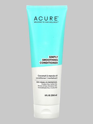 Acure Simply Smoothing Coconut & Marula Conditioner 8 oz