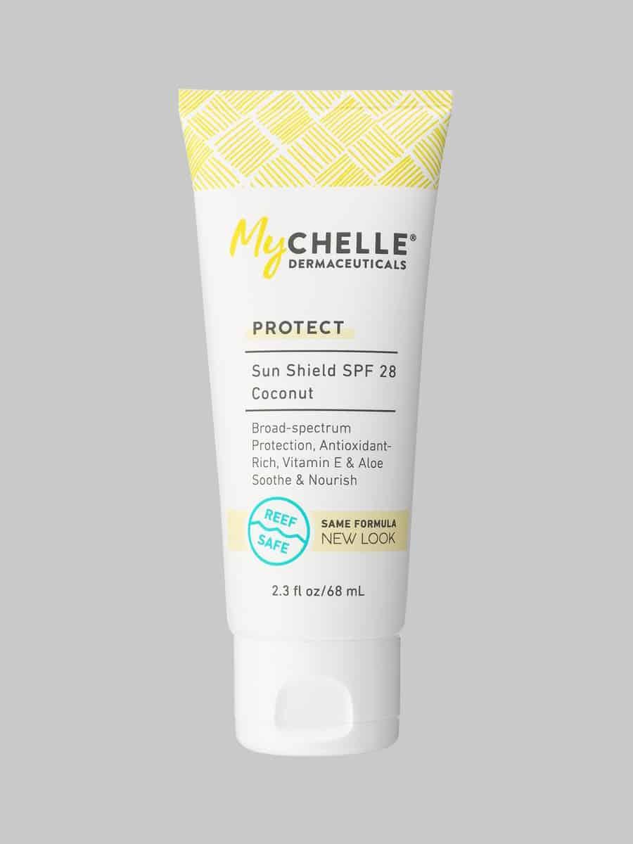 Amazon.com: MyChelle Sunshield Coconut SPF 28, Mineral