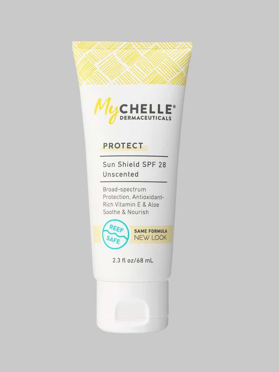 MyChelle Sun Shield SPF 28, Unscented   Sunscreen, Broad