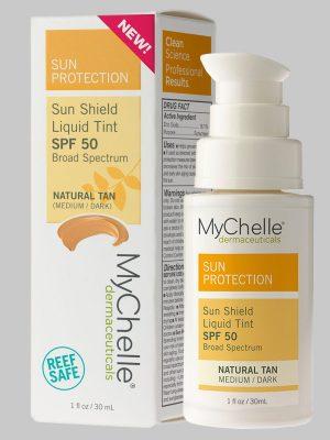 MyChelle Sun Shield Liquid Tint SPF 50 Natural Tan