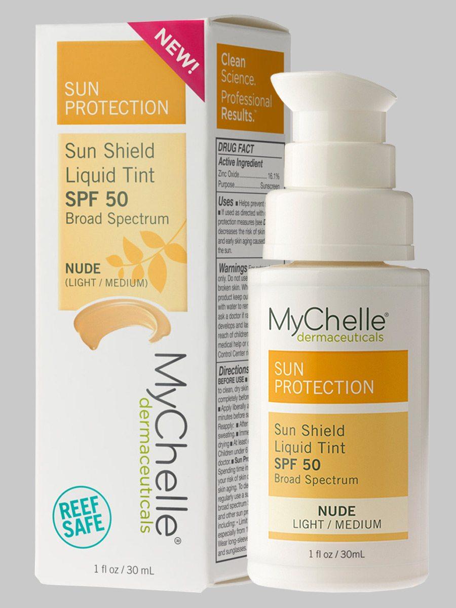 MyChelle Sun Shield Liquid Tint SPF 50 Nude