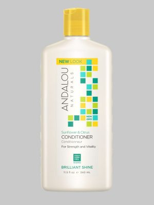 Andalou Naturals Sunflower Citrus Brilliant Shine Conditioner