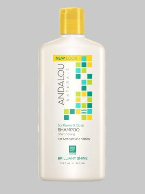 Andalou Naturals Sunflower Citrus Brilliant Shine Shampoo