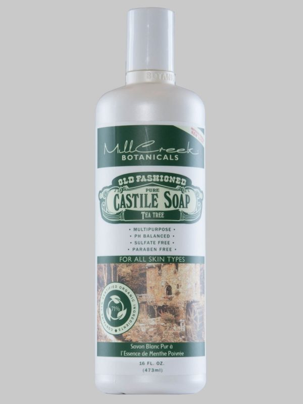 Mill Creek Castile Soap Tea Tree