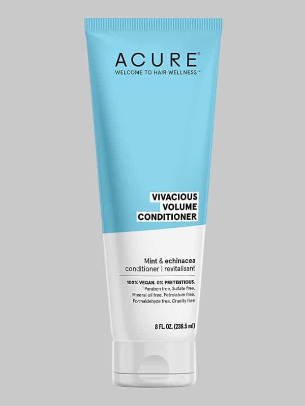 Acure Vivacious Volume Peppermint & Echinacea Conditioner 8 oz