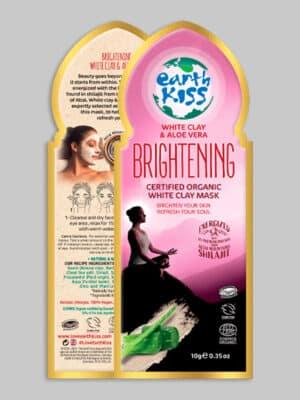 Earth Kiss White Clay and Aloe Vera Brightening Clay Mask